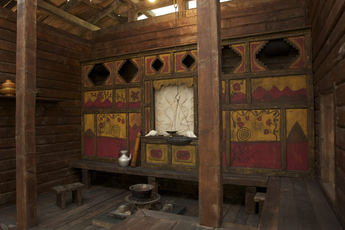 Inside the house, at Lentos Museum, Linz