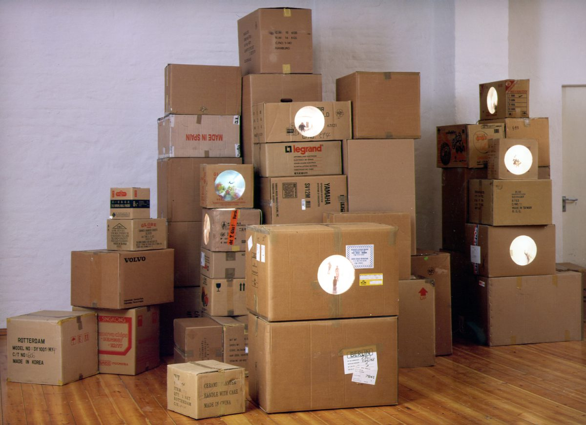Life Inside Storage, installation view