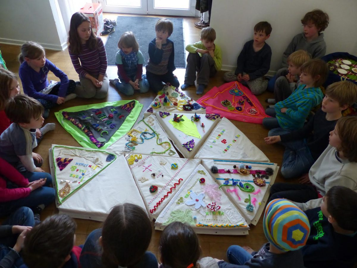 Workshop with children from Wilhelm von Humboldtschule