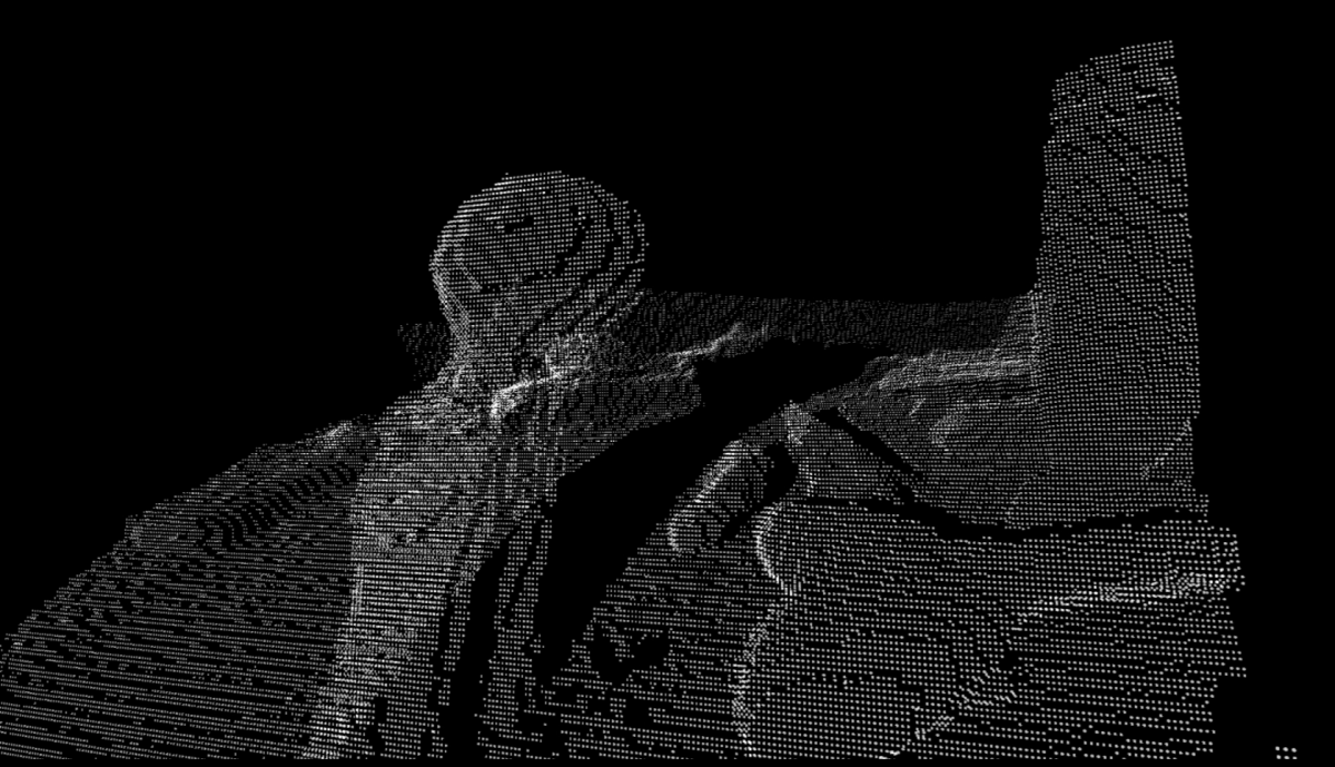 Picture with Kinect camera