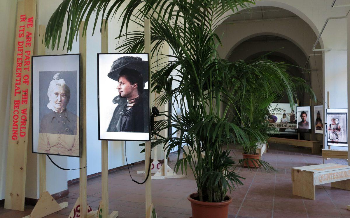 installation view, Körnerpark Gallery