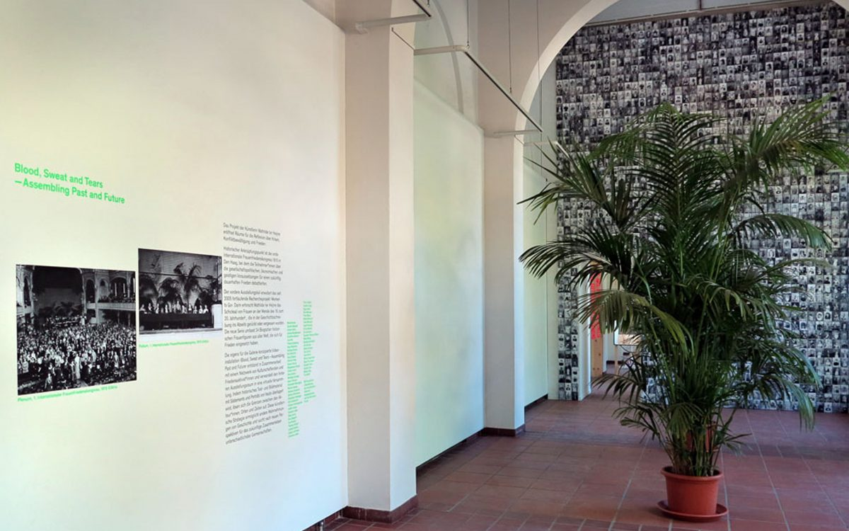 exhibition view, Körnerpark Gallery