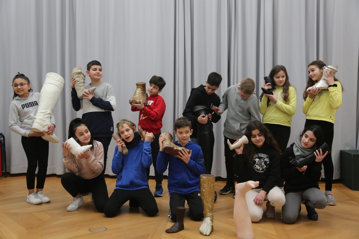 Pupils of the Schule am Rathaus, Berlin