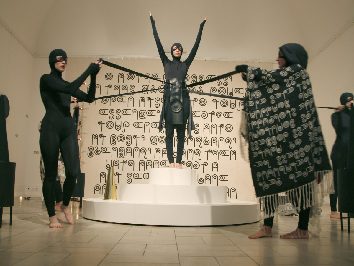 Double Action, Performance  in collaboration with artist Jen Ray