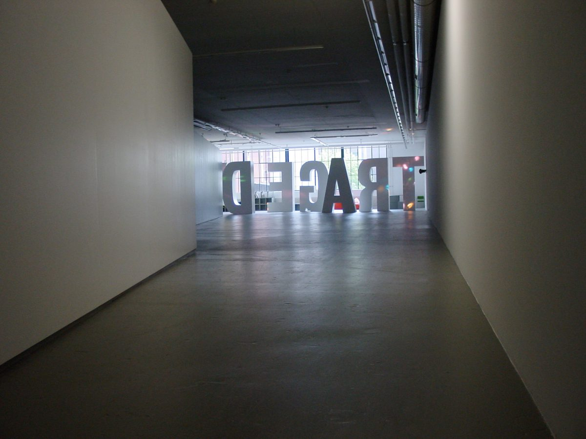 Tragedy, installation view