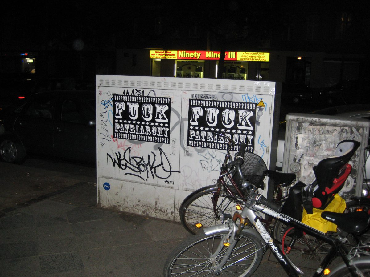 Poster on the steet