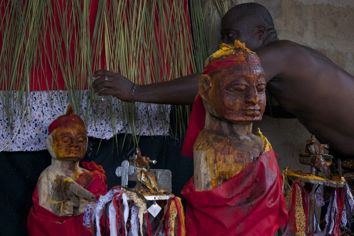 Video Still, Hexiesso altar, Agouegan, Togo
