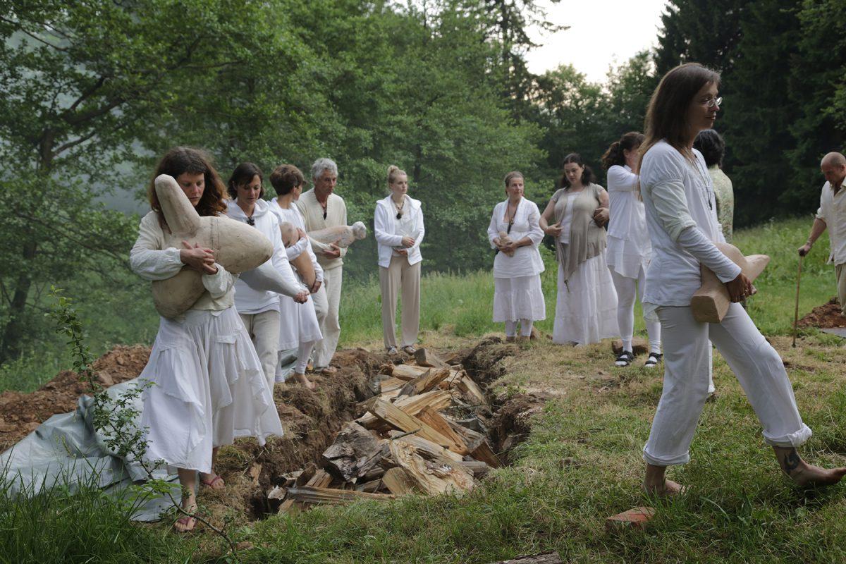 Rituals around the pits