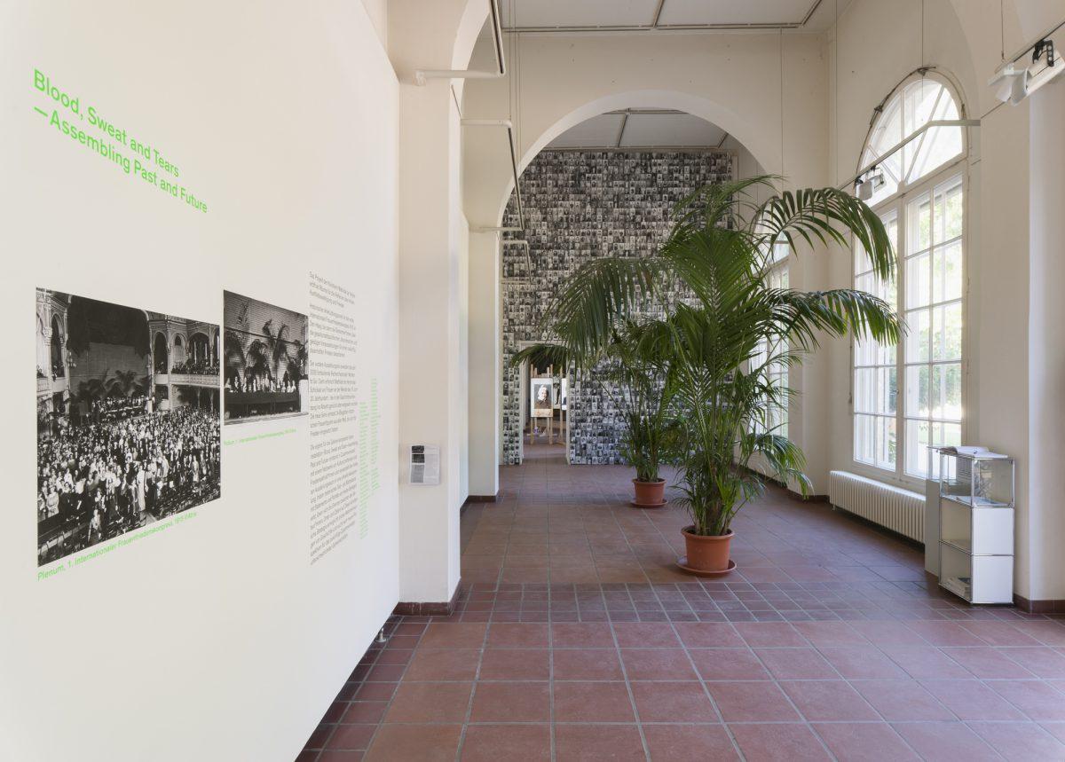 exhibition view, Körnerpark Gallery