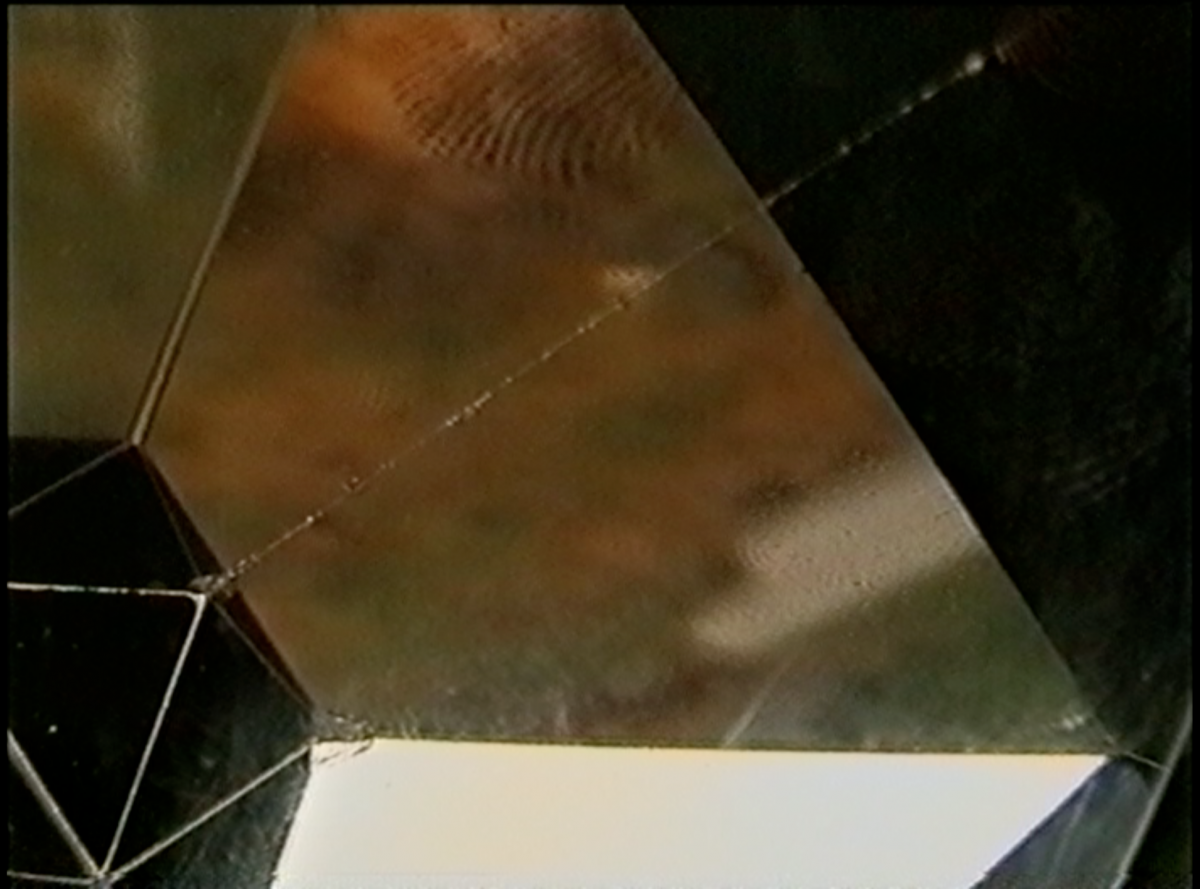 Picture with analoge camera through prism