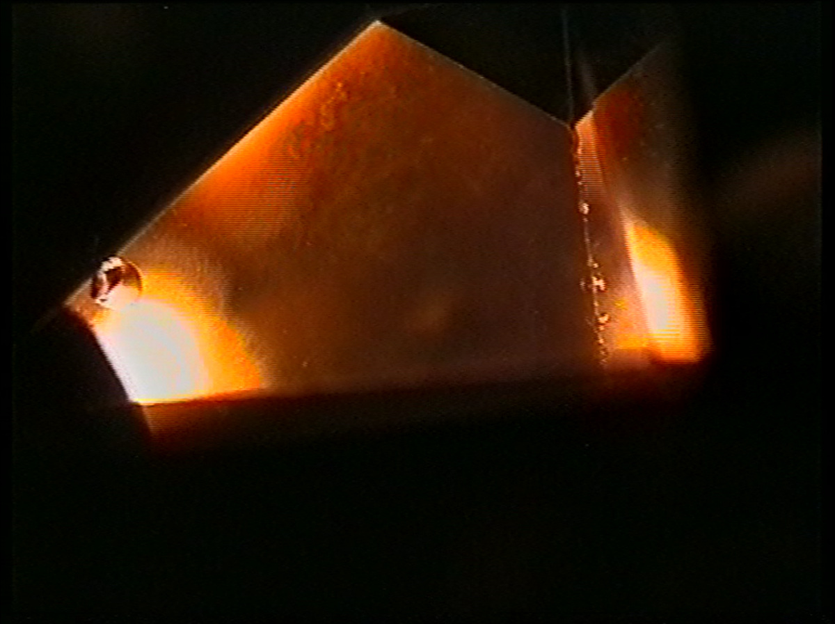 Picture with camera through prism
